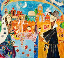 Shabbat a Jerusalem by Anna-Mansohn