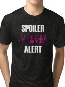 Elizabeth Spoiler Alert Tri-blend T-Shirt