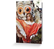 Goldfrapp - Seventh Tree Greeting Card