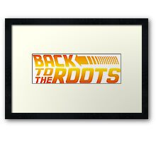 Back to the Roots Framed Print
