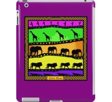 Africa Moves iPad Case/Skin