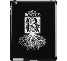 Back 2 the Roots iPad Case/Skin