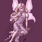 Beautiful Bashful Fairy by Al Rio by alrioart