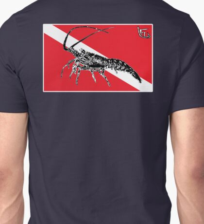 Dive Spiny Lobster Unisex T-Shirt