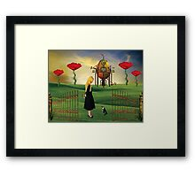 The Unexpected Journey... Framed Print