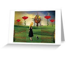 The Unexpected Journey... Greeting Card