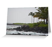 Ocean View in Kauai Greeting Card