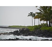 Ocean View in Kauai Photographic Print