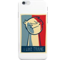 """Galaxy S4 snap case """"I like trains"""" iPhone Case/Skin"""