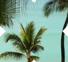 Beach X  Sticker
