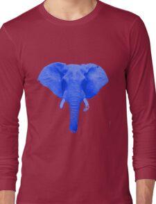 Blue Elephant Long Sleeve T-Shirt