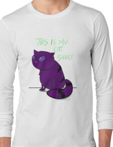 This is my cat shirt. Long Sleeve T-Shirt