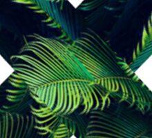 Leaf X Sticker