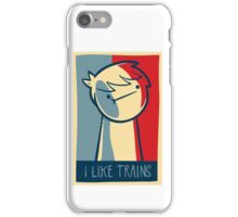 "Ipod touch  capsule case ""I like trains"" iPhone Case/Skin"
