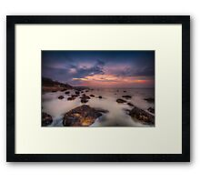 Woodside Beach Framed Print