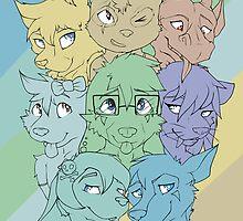 'BFFs' 2014 Poster by R3DRUNNER
