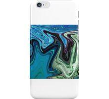 Flowing swan iPhone Case/Skin