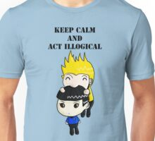 Keep Calm And Act Illogical Unisex T-Shirt