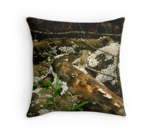 Snow in the Rainforest Throw Pillow
