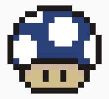 Blue Mario Mushroom by neysalovescats