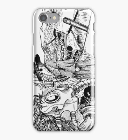 Death Masks iPhone Case/Skin