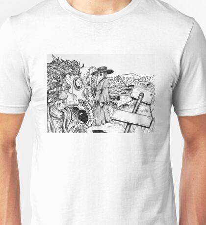 Death Masks Unisex T-Shirt
