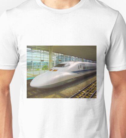 Shinkansen bullet train, Japan Unisex T-Shirt