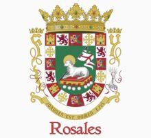 Rosales Shield of Puerto Rico Kids Tee