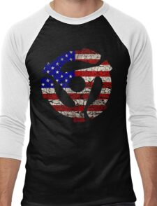 American Music Men's Baseball ¾ T-Shirt