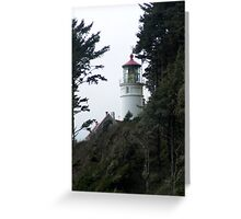 Oregon Coast Lighthouse Greeting Card