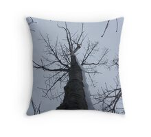 Winter's Arm Throw Pillow