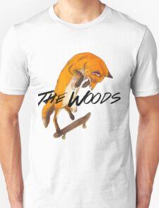 Skater Fox Unisex T-Shirt