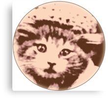 Kitty Gal Canvas Print