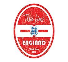 Euro 2016 Football - England Photographic Print