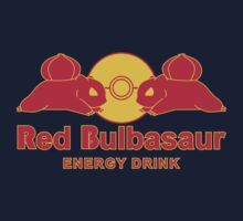 Red Bulbasaur Energy Drink by LgndryPhoenix