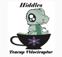 """Hiddles"" the Teacup Velociraptor by CraftyBlueTiger"
