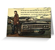Chevy '67 Impala Greeting Card