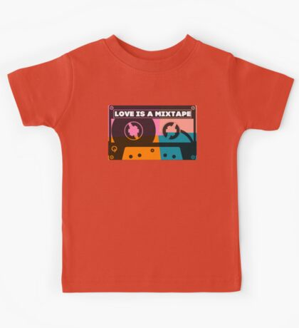 Love Is A Mixtape Kids Tee