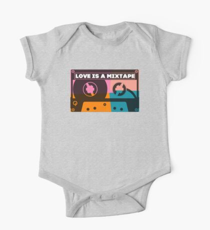 Love Is A Mixtape One Piece - Short Sleeve