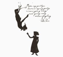 Peter pan quotes Kids Tee