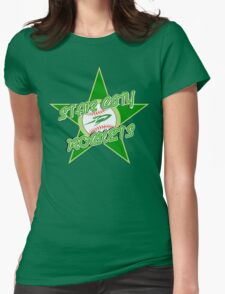 The Star City Rockets Womens Fitted T-Shirt