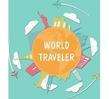 World Traveler Photographic Print