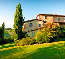 Tuscany Farmhouse  by Earthquake