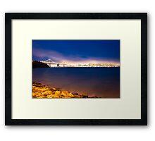 Lights of San Francisco  Framed Print