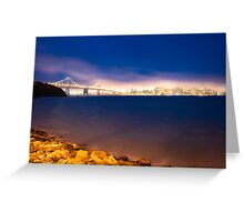 Lights of San Francisco  Greeting Card