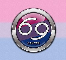 Cancer - Bisexual Pride  by LiveLoudGraphic