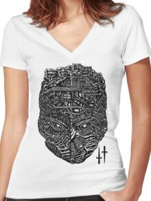 Machine Head Women's Fitted V-Neck T-Shirt