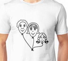 Balloon family sports Unisex T-Shirt