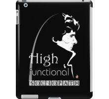 Sherlock: high functioning sociopath iPad Case/Skin