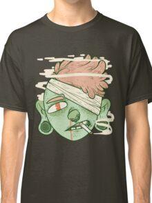 ciggy butt brain (alt) Classic T-Shirt